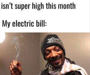 My electric bill