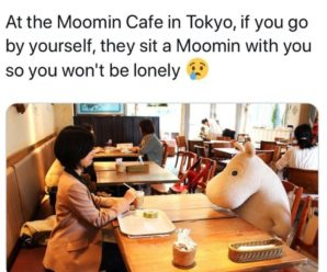 Never alone with mumin