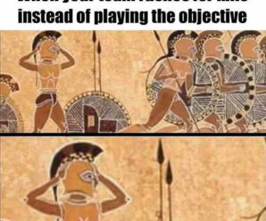 When your team run for kills